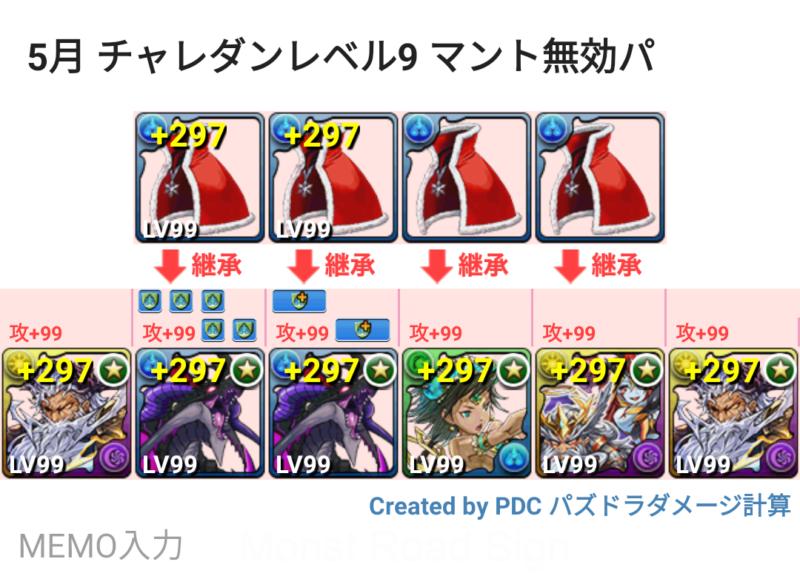 チャレンジ ダンジョン レベル 9